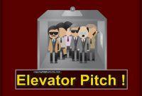 elevator pitch teknik menulis berlatih dan dapatkan investor pelanggan dalam 40 detik