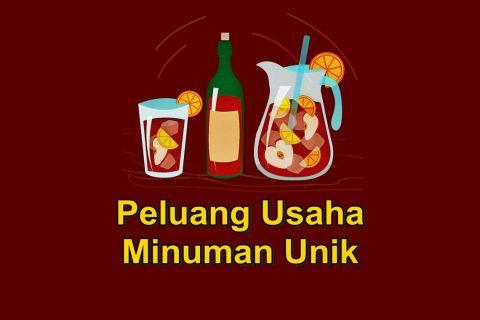 peluang usaha minuman unik